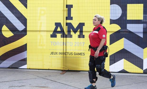 Advances in prosthetics ease transition from battlefield to playing field