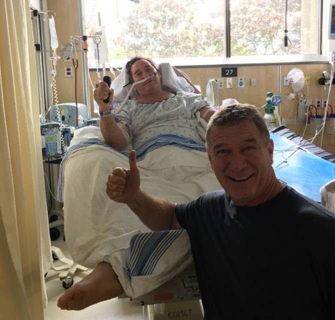 Mike Hamill – left a paraplegic after boat collides with humpback