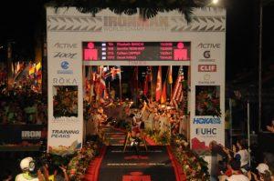 robert buren crosses finish line