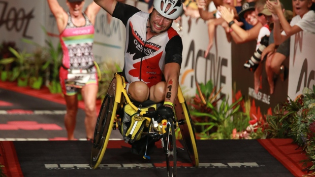 Robert Buren – From paraplegic to Ironman triathlete