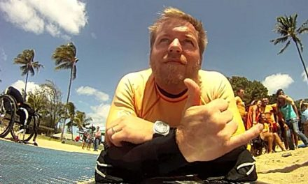 Rich Vander Wal — T4 Paraplegic — Assisting others to getting back to life
