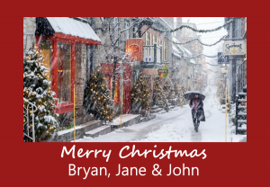Merry Christmas - Bryan, Jane & John