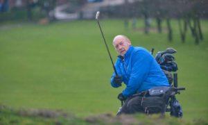 disabled golfer