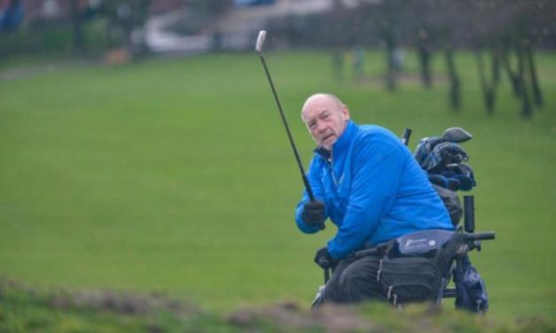 Disabled golfer becomes first worldwide to captain an able-bodied club
