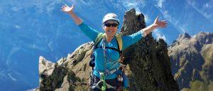 Cancer Survivor and climber Margaret Imai-Compton