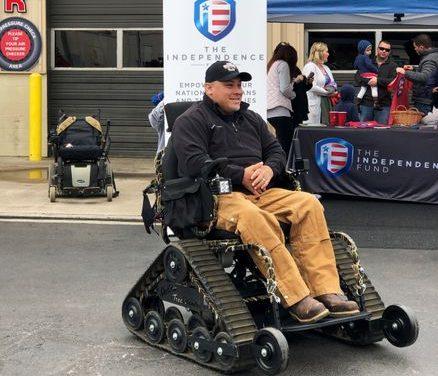 Veteran to run farm, dog training business from $16,000 all-terrain wheelchair