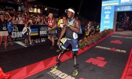 San Diego-raised double-amputee makes history at Ironman World in Hawaii