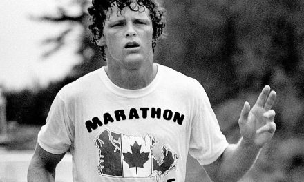 Terry Fox – The Marathon of Hope