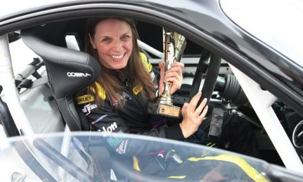 Nathalie McGloin is the only female tetraplegic in the world who races cars.